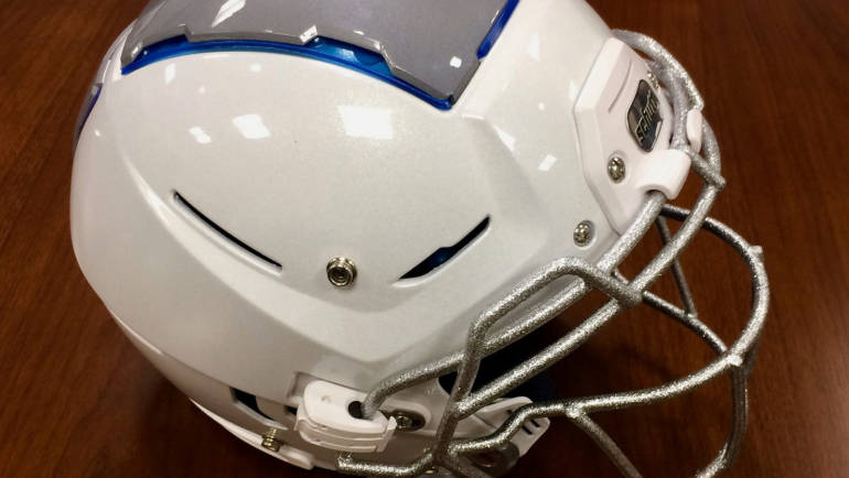 New F7 design is latest round in helmet arms race